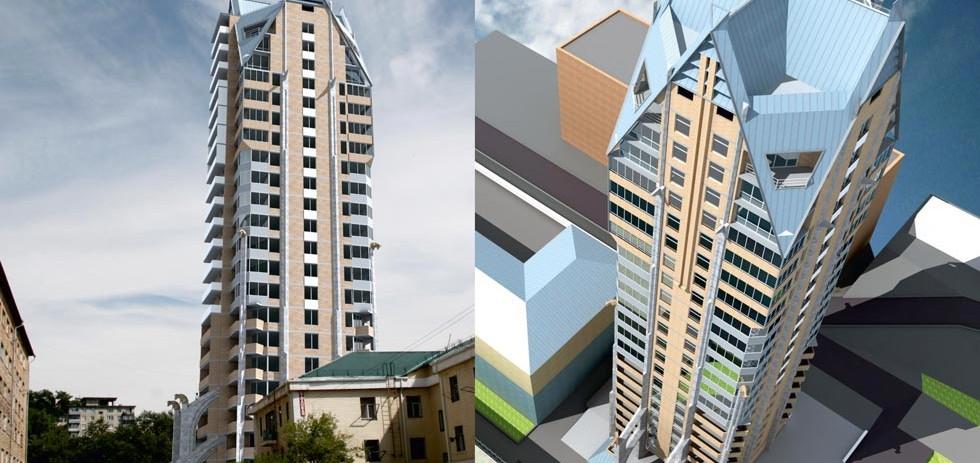 Офисно-жилое здание по ул. Суханова 3-А